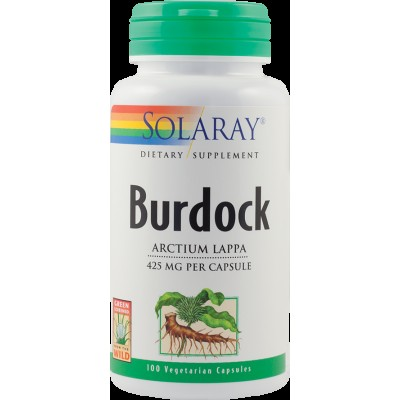 Cosmetice naturale Burdock (Brusture) 425mg 100 cps