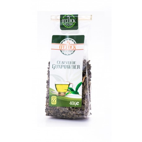 Ceai natural Gunpowder (40 g)